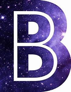 """The Letter B - Space"" Stickers by Mike Gallard Redbubble"
