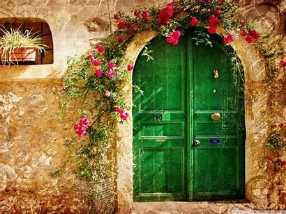 Picturesque Desktop Wallpapers Background Wall Door 4k