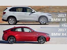 2017 BMW X5 vs 2017 BMW X4 technical comparison YouTube