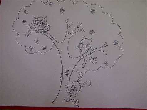 zeichnen ideen anfänger lustige tiere zeichnen katze eule hase ideen zur kindergeburtstag einladung