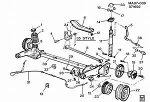 1999 Buick Century Rear Suspension Assembly Pictures To