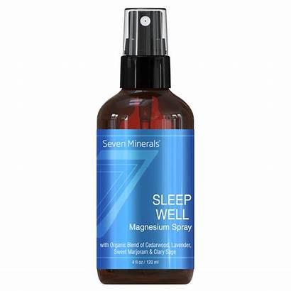 Spray Magnesium Sleep Well Oil Minerals Natural