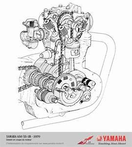 Xs650  Xs1b Motor Schematic
