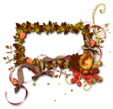 illustration autumn frame photo frame  image