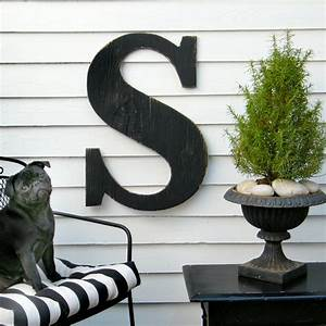 24 extra large letter large wood letters shabby by With huge wooden letters