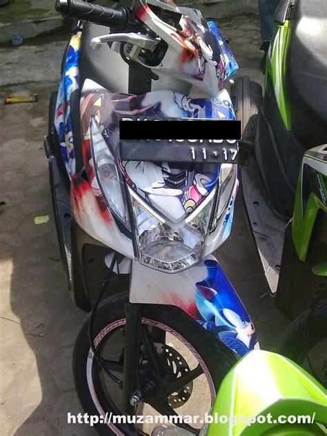 beat fi modifikasi stiker thecitycyclist