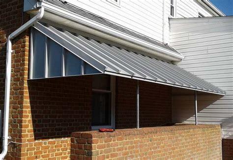 aluminum  metal awnings  hoffman awning