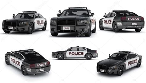 Usa Dodge Charger Police Car