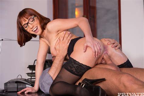 Secretary Tina Hot Gets Double Penetrated At Work Photos