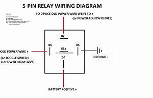 Bosch 30 Amp Relay Wiring Diagram