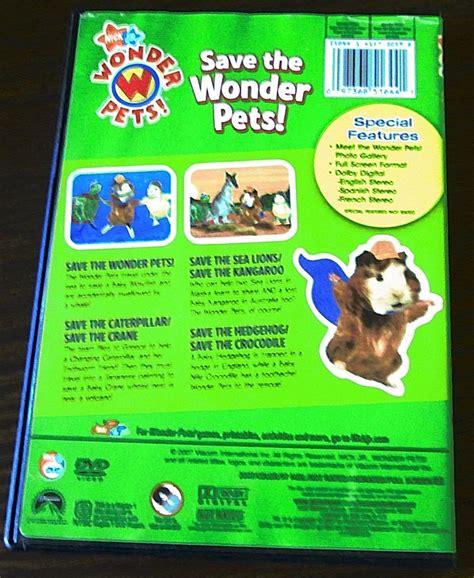 Wonder Pets Save the Tiger DVD