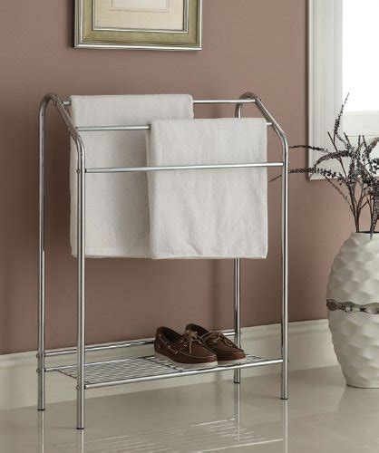 towel holder shelf towel rack free standing bathroom holder shelving drying 2879