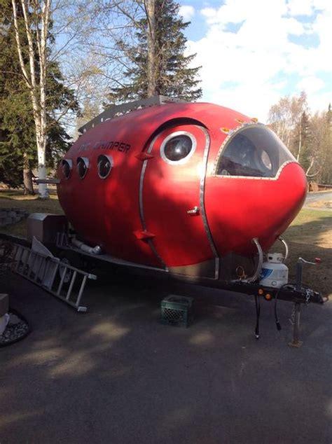 atomic camper   unique solar powered home  trailer