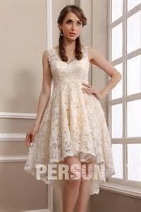 robe mariã e courte devant longue derriere robe de mariée plage en dentelle meringue courte devant longue derrière persun fr