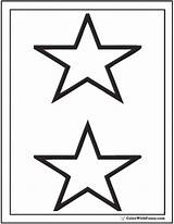 Coloring Stars Printable Pdf Stacked Colorwithfuzzy Ad sketch template