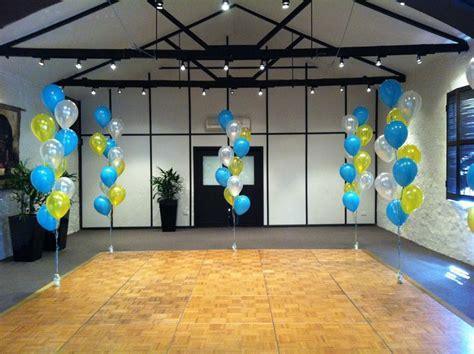 rubber ducky colored balloon bouquet  party ideas