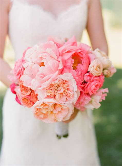 Best 25 Coral Peony Bouquet Ideas On Pinterest Coral