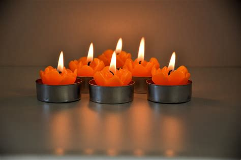 Foto Candele Candele Accese Immagine Gratis Domain Pictures