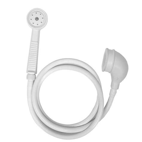 Best Handheld Shower Head Reviews by Danco Versa 1 Spray Portable Hand Shower In White 10086