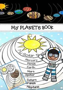 Planet Order Book Activity | Fun learning, Solar system ...