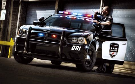 cool police car action wallpapers hd desktop  mobile