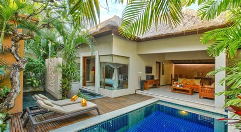villa mewah  bali  kolam renang pribadi