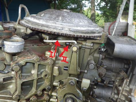 moteur johnson v4 120 ch 1987 seul deux cylindres tournent discount marine