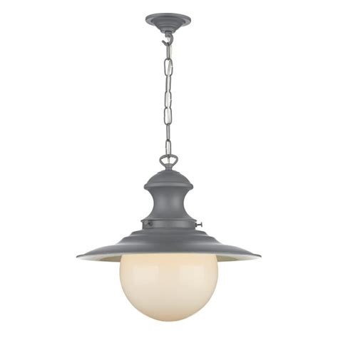 grey hanging pendant light fitting kitchen