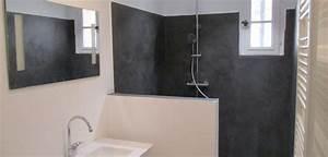 Un coup de neuf a ma salle de bain resinence for Salle de bain design avec résine décorative pour sol