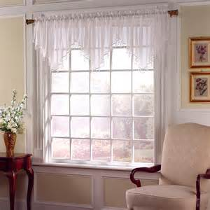 sheer voile valance sears com