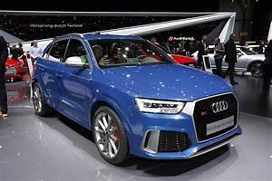 Futur Audi Q3 : audi rs q3 performance plus de chevaux pour le salon de gen ve 2016 l 39 argus ~ Medecine-chirurgie-esthetiques.com Avis de Voitures