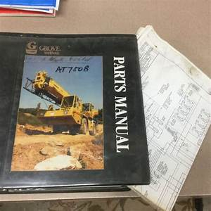 Grove At750b Truck Crane Parts Manual Book Catalog All