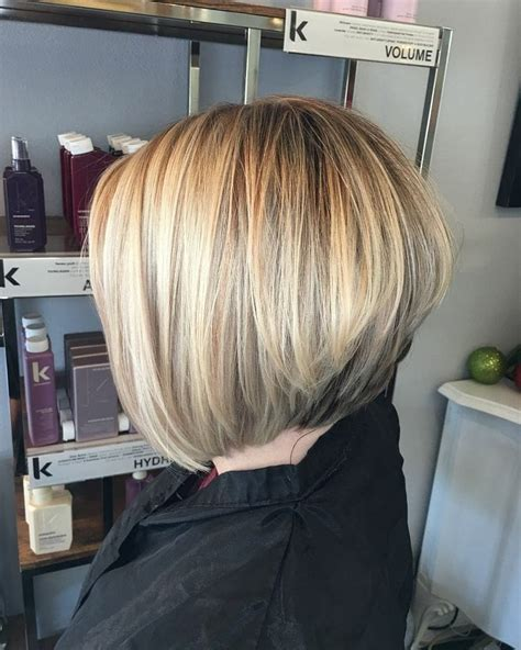 super hot stacked bob haircuts short hairstyles