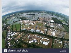 HANDOUT Aerial view of the festival grounds of the