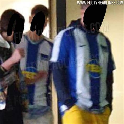 hertha berlin home kits leaked footy headlines