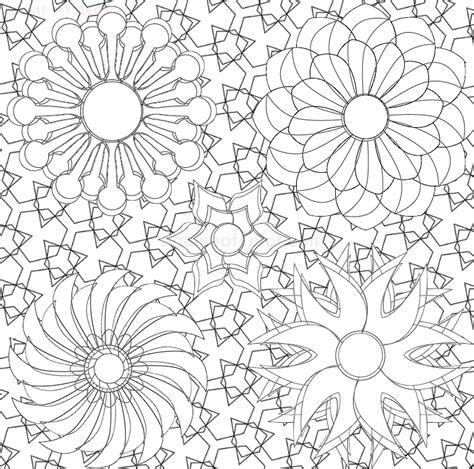 patterns mandala coloring kids