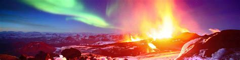 northern lights tours canada iceland volcanoes and northern lights escorted holiday