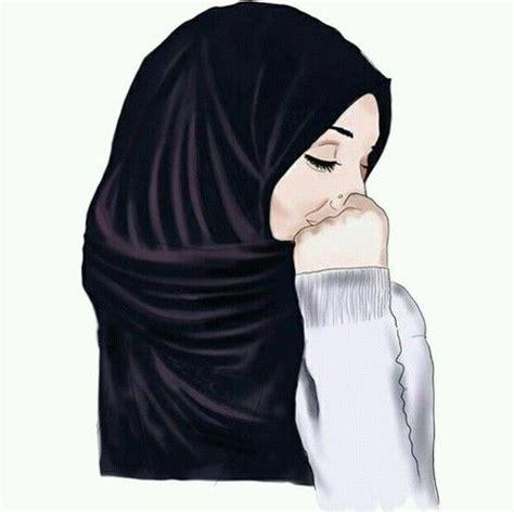 gambar hijab drawing  art hijab drawing hijab