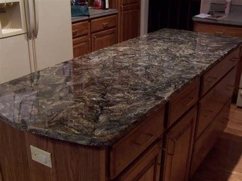 black wave granite kitchen countertop kitchen