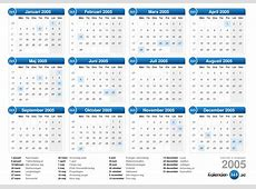 Kalender 2005