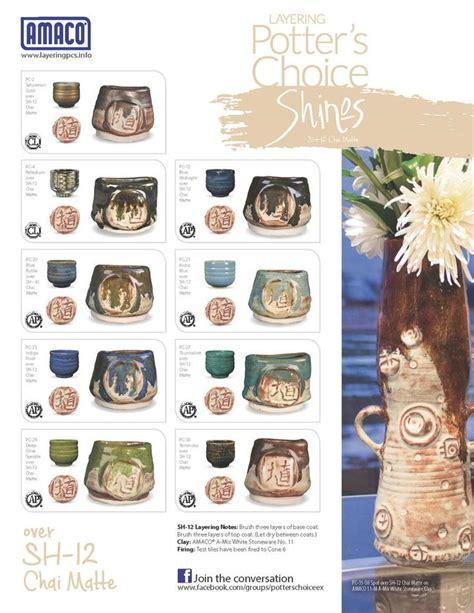 amaco underglazes 18 best amaco midrange shino glazes images on