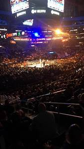 Msg Theater Seating Chart View Boxing Photos At Staples Center