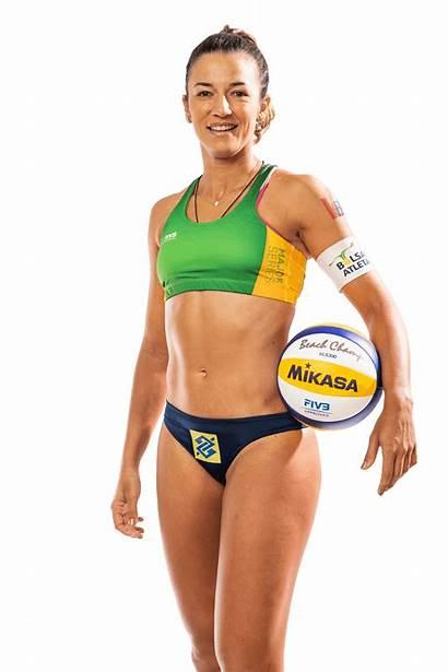 Beach Volleyball Barbara Seixas Freitas Height 1188