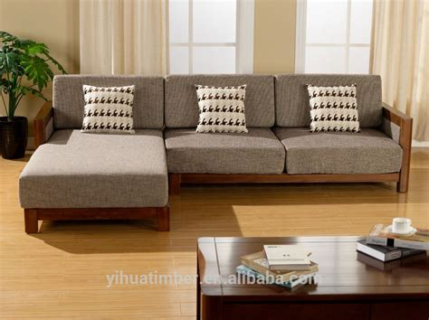 Contemporary Wooden Sofa by च न श ल ठ स लकड स फ ड ज इन आध न क लकड स फ Table