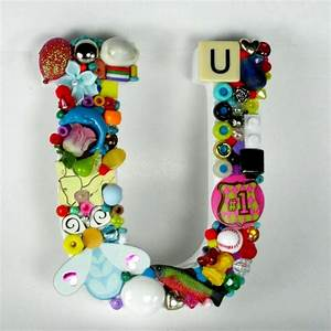 toy letter u With letter writing toy