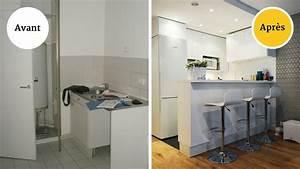 davausnet cuisine design pour petit appartement avec With deco petite cuisine appartement