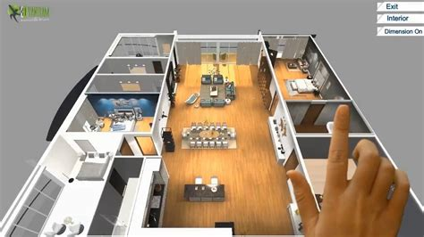 virtual reality floor plan design  touch screen vr