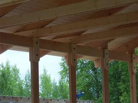 Tongue And Groove Wood Roof Decking by Alaska Quality Builders