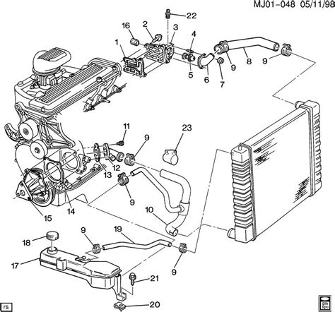 1998 Ford 4 2l Wiring Harnes by Chevy S10 Radiator Diagram Chevy Auto Wiring Diagram