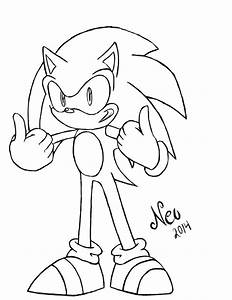 Thumbs Up Uncolored By Neonkeii On Deviantart